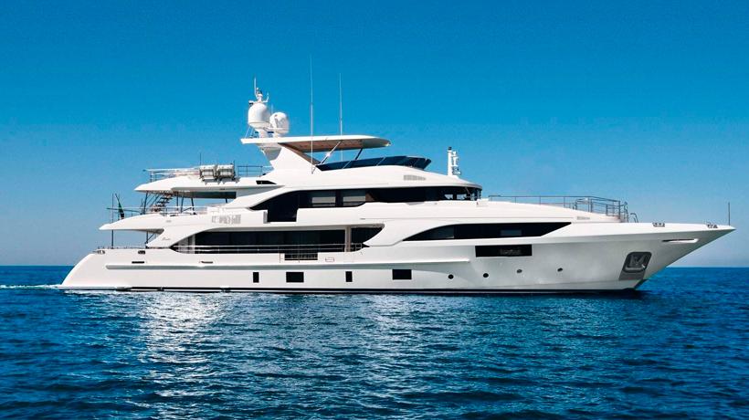 Yacht Looking Like a Jet