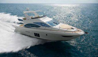 55 Azimut Yacht Rental Miami