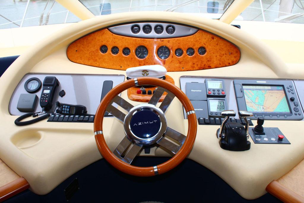 62 Azimut' Boat Wheel