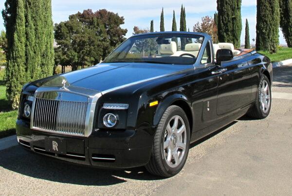 Rolls Royce Drophead car rental