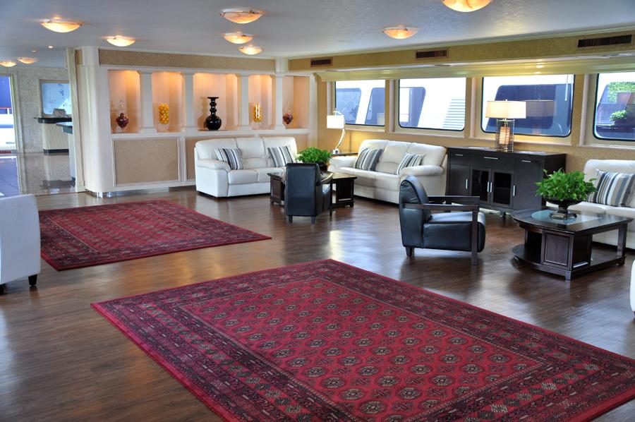 Windy 170u0027 Mega Yacht Rental Miami Lounge