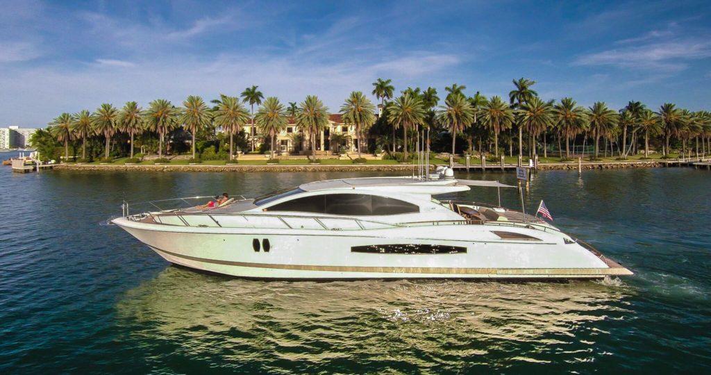 75' Lazzara LSX for Rent in Miami