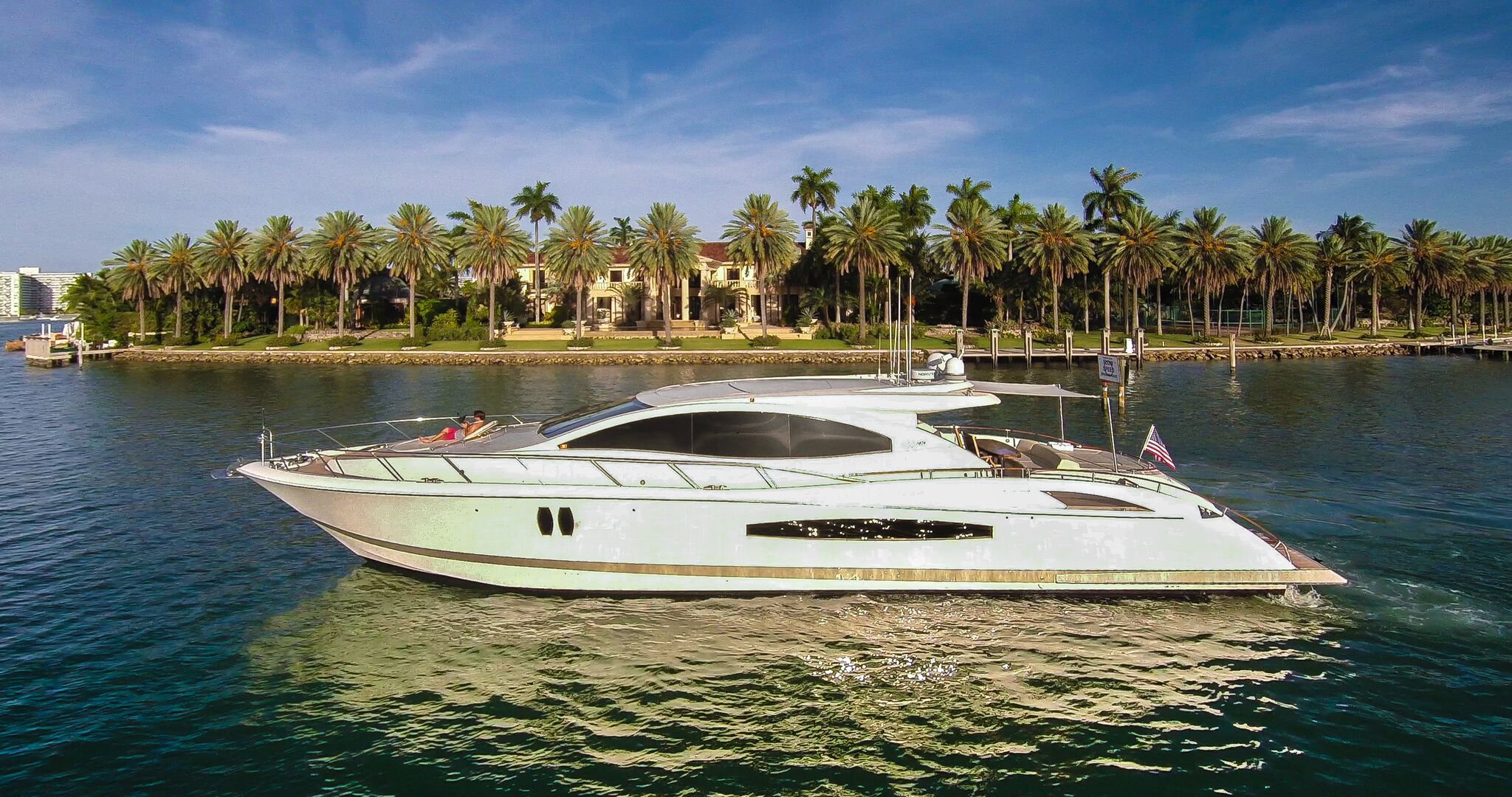 75' Lazzara LSX for Rent in Miami