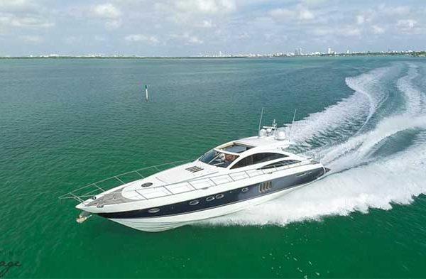 70 Princess Yacht Rental Miami