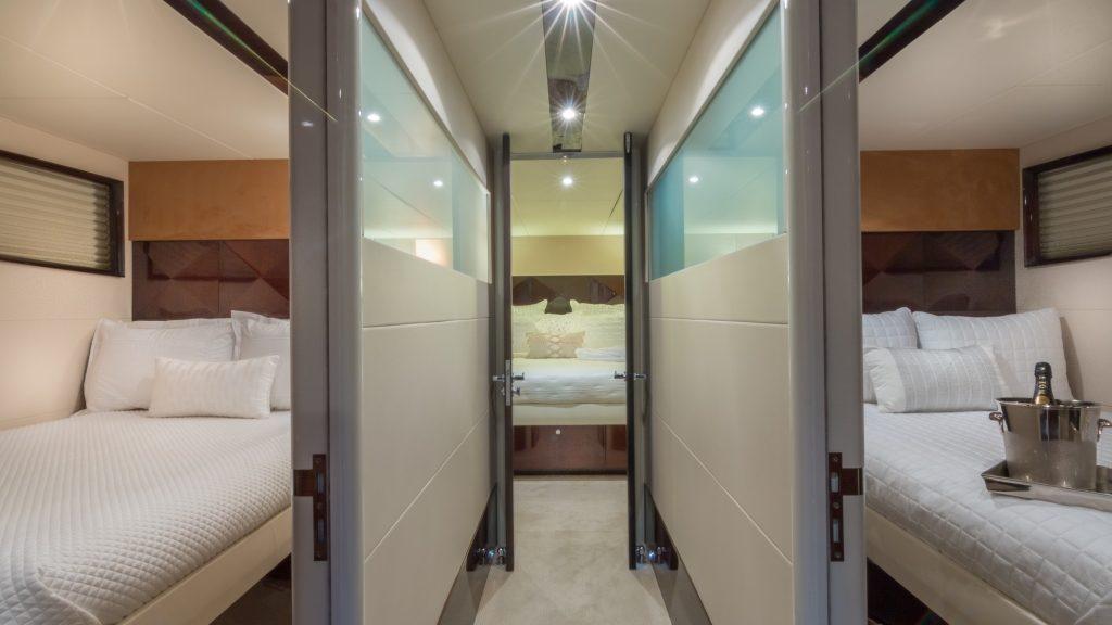 75' Lazzara LSX Boat Cabins