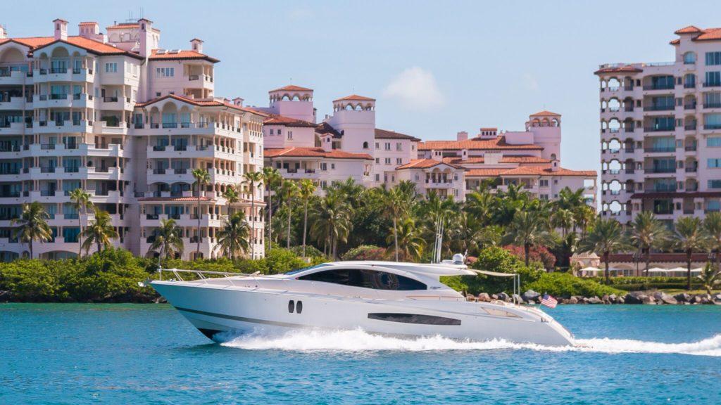 75' Lazzara LSX Boat Rental Miami