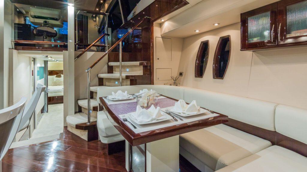 75' Lazzara LSX Yacht Table