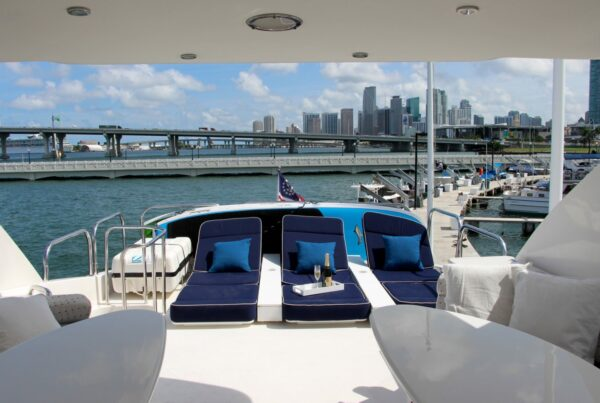 70' Lazzara Yacht Rentals Miami