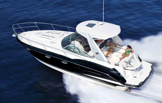 37 Monterey Yacht Charter Miami