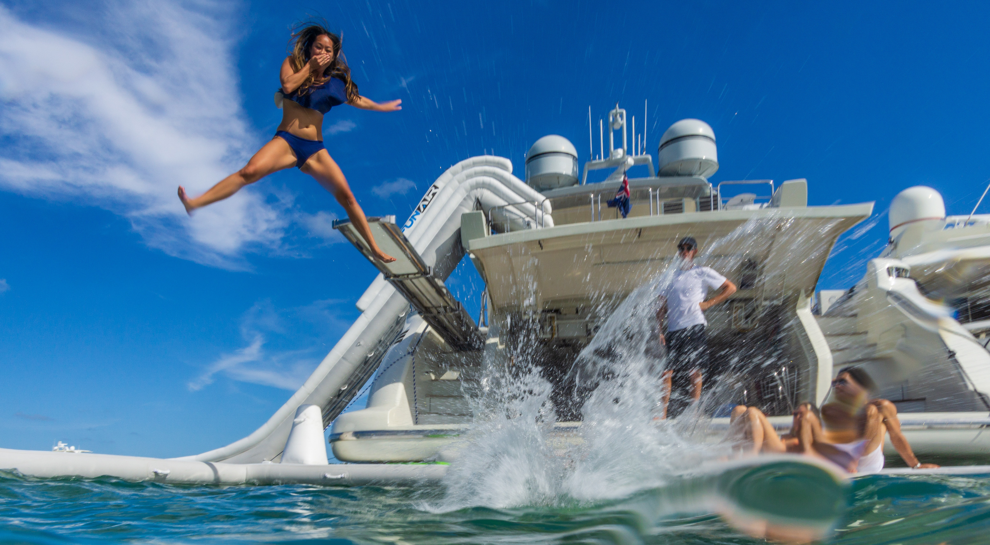 Dare to be different this spring break on board the 86' Aicon!